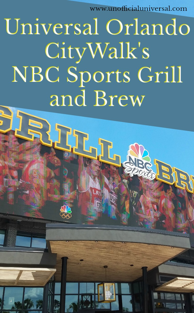 CityWalk\'s NBC Sports Grill and Brew - Unofficial Universal