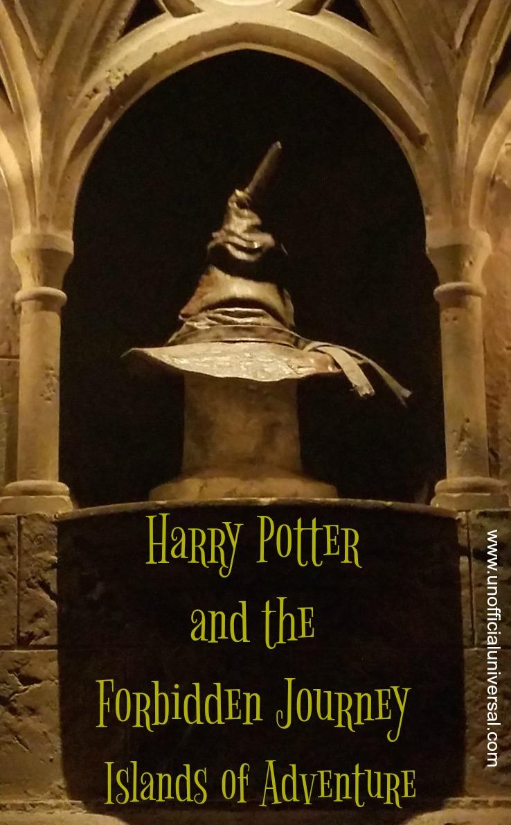 Universal studios harry potter forbidden journey