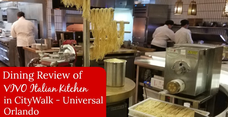 Dining review of vivo italian kitchen in citywalk for Vivo italian kitchen